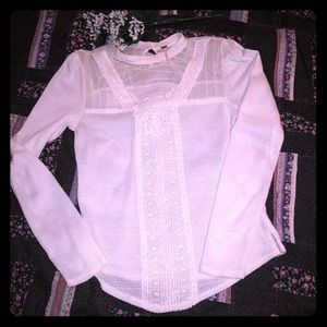 Free people high neck knit top